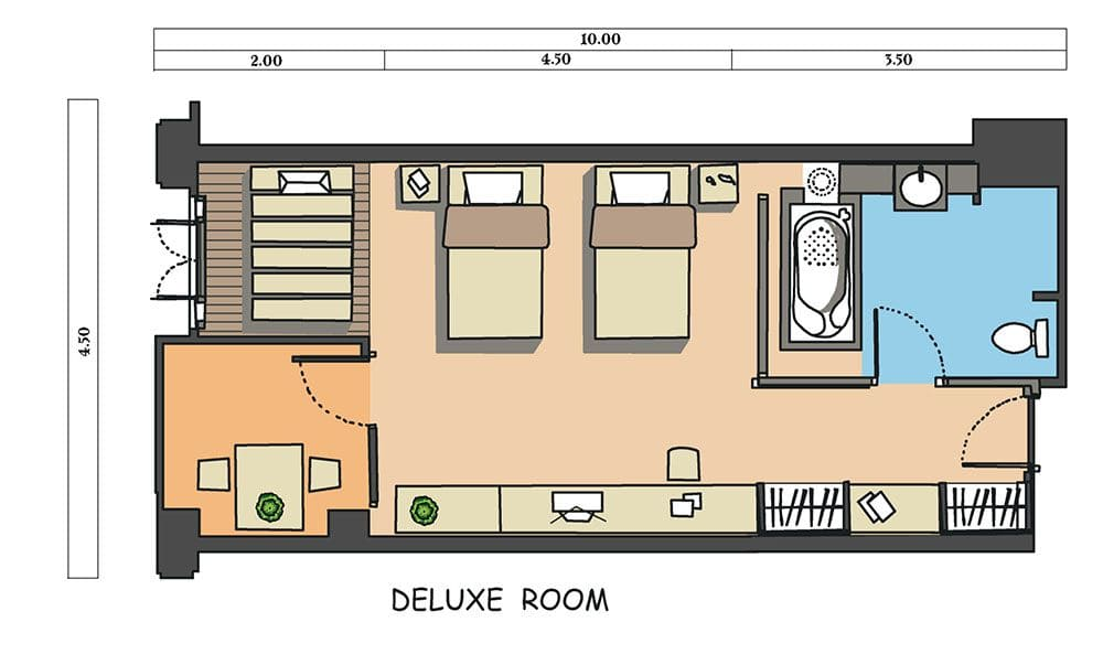 Deluxe Room Layout Www Pixshark Com Images Galleries With A Bite